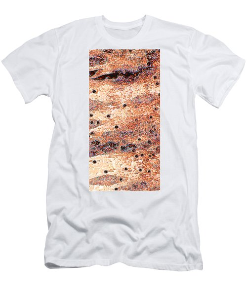 Men's T-Shirt (Slim Fit) featuring the photograph Copper Lake 2 by Stephanie Grant