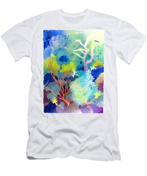 Coral Reef Dreams 1 Men's T-Shirt (Athletic Fit)