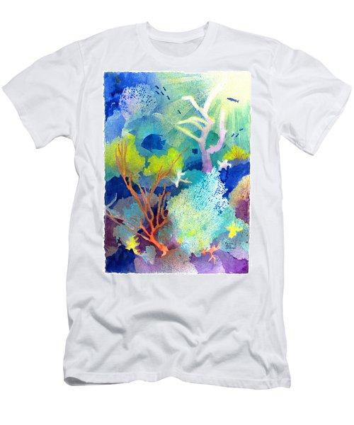 Coral Reef Dreams 1 Men's T-Shirt (Athletic Fit)
