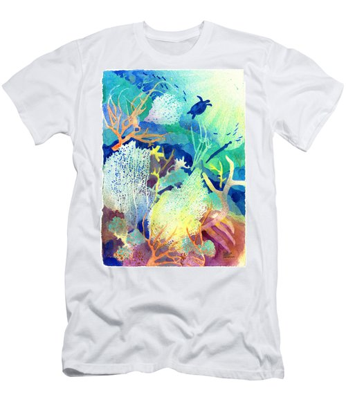 Coral Reef Dreams 2 Men's T-Shirt (Athletic Fit)