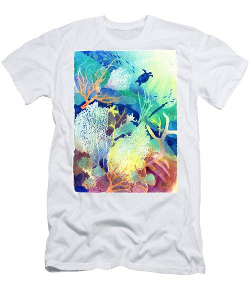 Coral Reef Dreams 2 Men's T-Shirt (Athletic Fit)