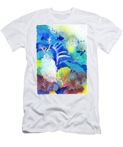 Coral Reef Dreams 3 Men's T-Shirt (Athletic Fit)