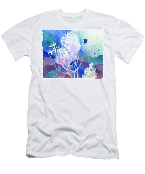 Coral Reef Dreams 5 Men's T-Shirt (Athletic Fit)