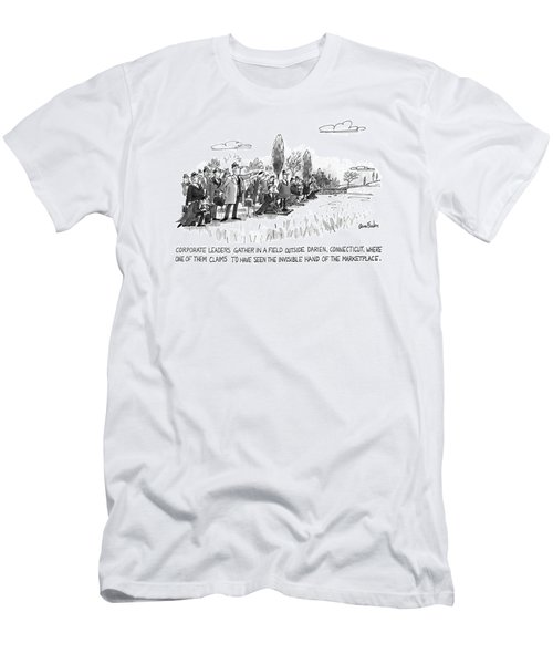 Corporate Leaders Gather In A Field Men's T-Shirt (Athletic Fit)
