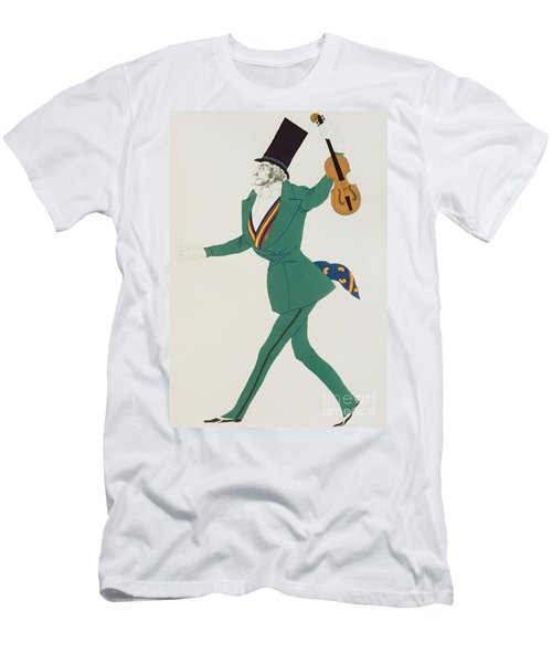 Costume Design For Paganini In The Enchanted Night Men's T-Shirt (Athletic Fit)