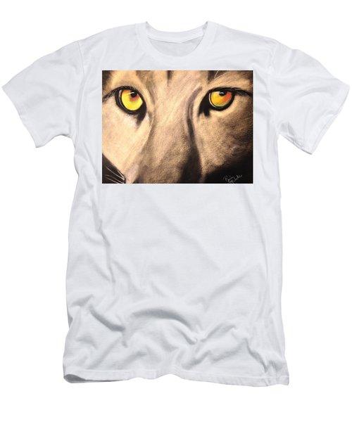Cougar Eyes Men's T-Shirt (Athletic Fit)