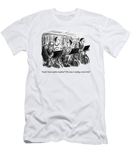 Could I Have Another Machine?  This Man Men's T-Shirt (Athletic Fit)