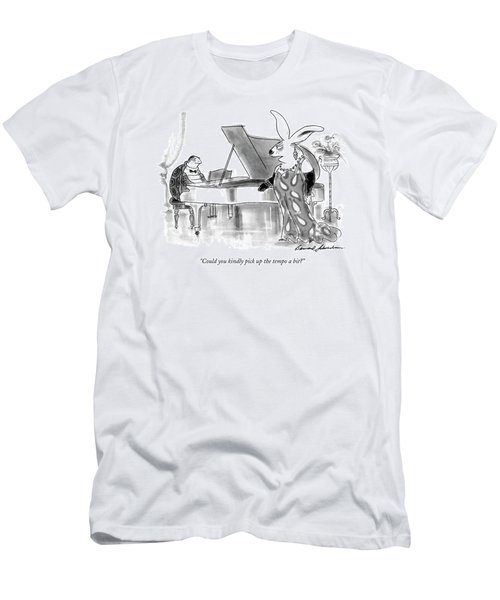 Could You Kindly Pick Up The Tempo A Bit? Men's T-Shirt (Athletic Fit)