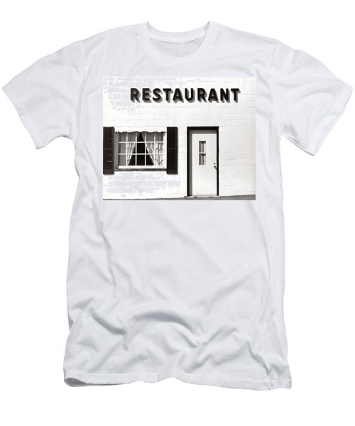 Country Restaurant Men's T-Shirt (Athletic Fit)