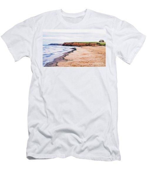 Cousins Shore Prince Edward Island Men's T-Shirt (Athletic Fit)