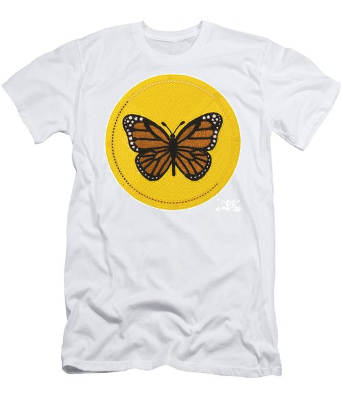 Cradleboard Beadwork Spring Butterfly Men's T-Shirt (Athletic Fit)