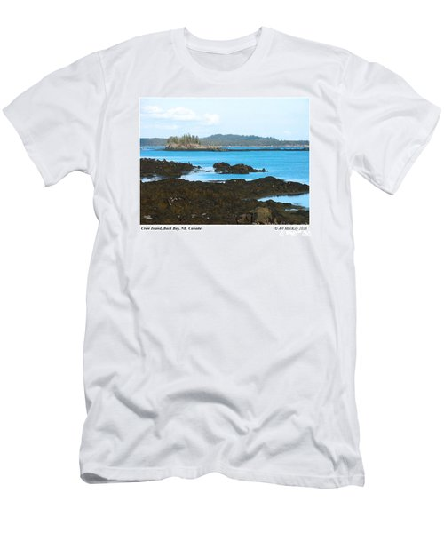 Crow Island Bay Of Fundy Nb Men's T-Shirt (Athletic Fit)