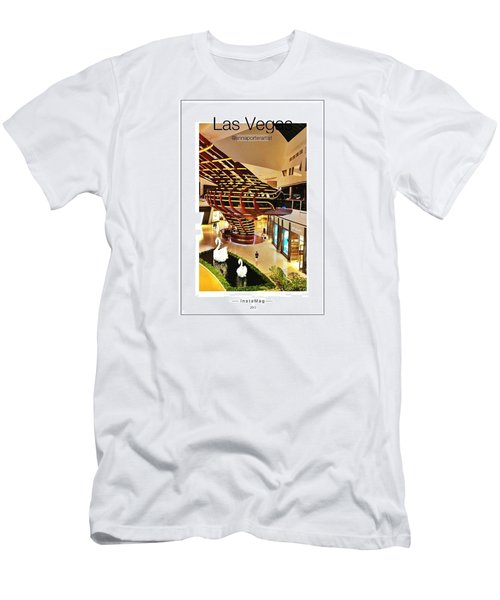 Crystals Mall At City Center, Las Men's T-Shirt (Athletic Fit)