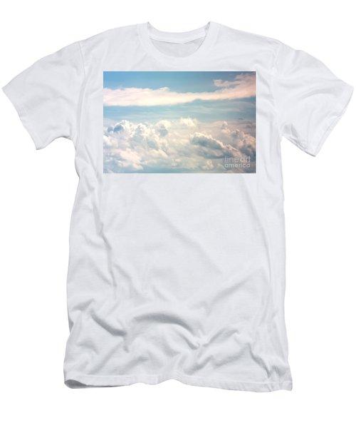Cumulus Clouds Men's T-Shirt (Athletic Fit)