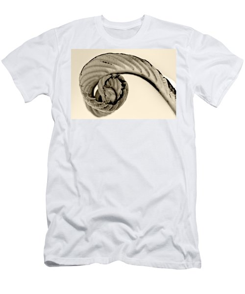 Curled Men's T-Shirt (Athletic Fit)