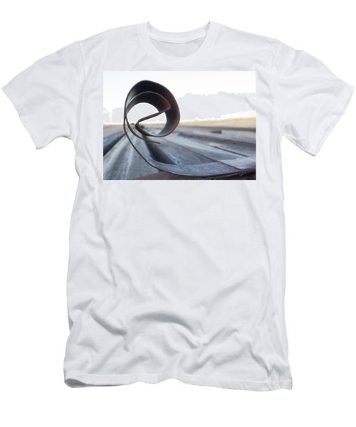 Curled Steel Men's T-Shirt (Athletic Fit)