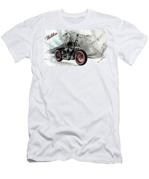 Custom Bobber Men's T-Shirt (Slim Fit) by Louis Ferreira