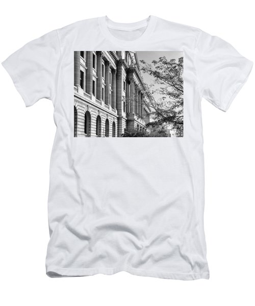 Cuyahoga County Court House Men's T-Shirt (Athletic Fit)