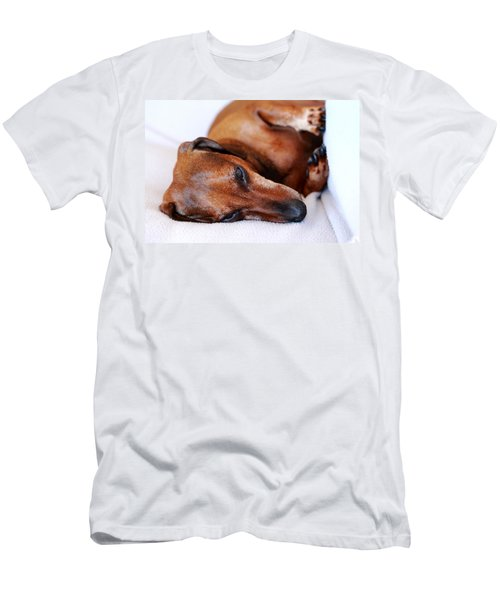 Dachshund Men's T-Shirt (Athletic Fit)