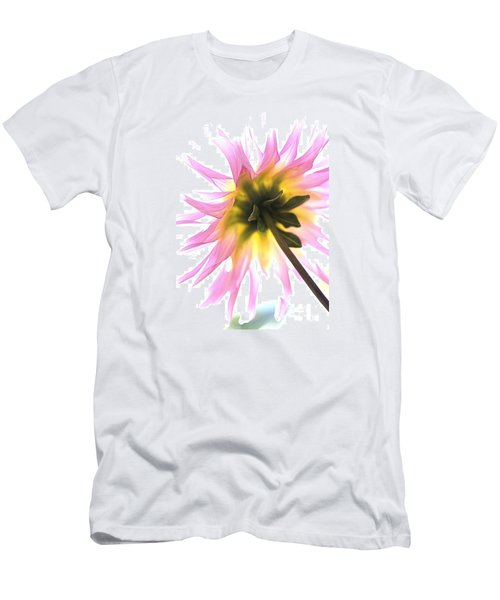 Dahlia Flower Men's T-Shirt (Slim Fit) by Joy Watson