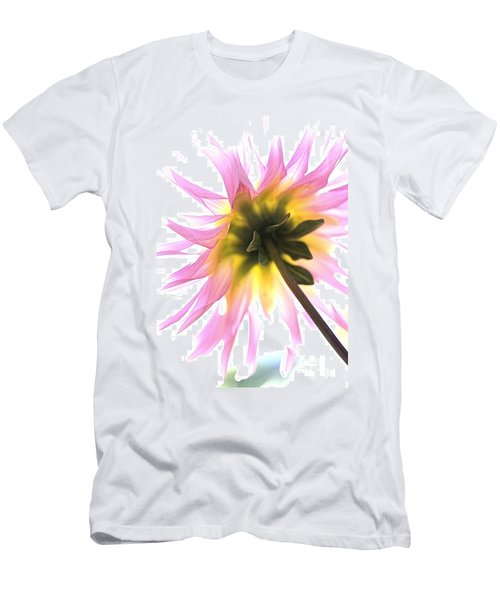 Dahlia Flower Men's T-Shirt (Athletic Fit)
