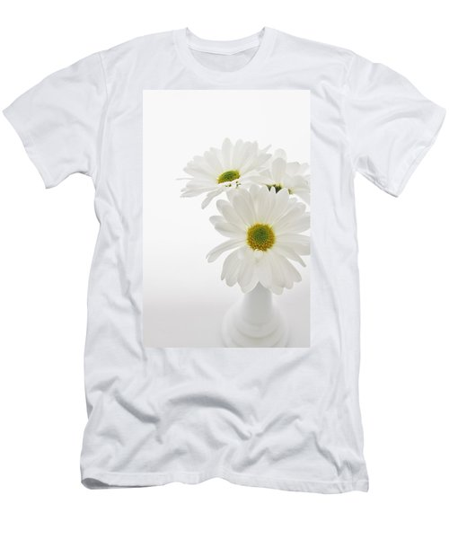 Daisies For You Men's T-Shirt (Slim Fit) by Diane Alexander
