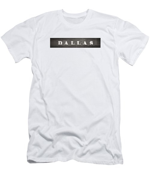 Men's T-Shirt (Slim Fit) featuring the photograph Dallas by Darryl Dalton