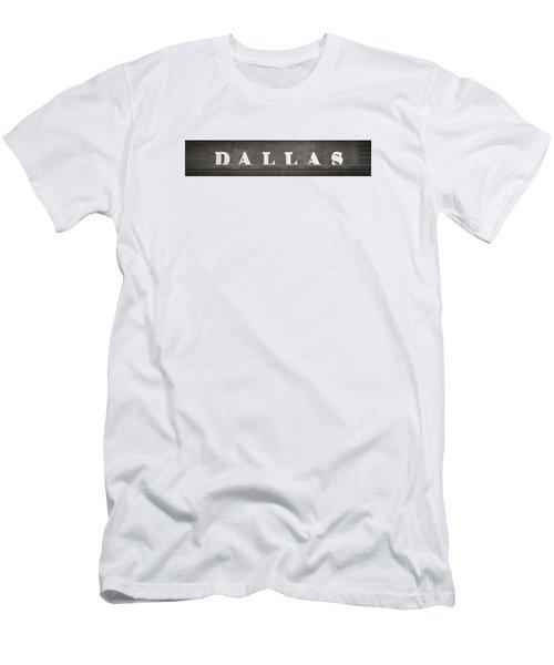 Dallas Men's T-Shirt (Slim Fit) by Darryl Dalton