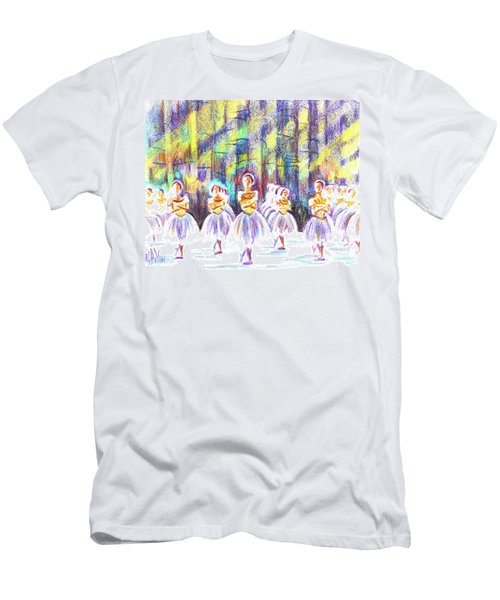 Dancers In The Forest Men's T-Shirt (Athletic Fit)