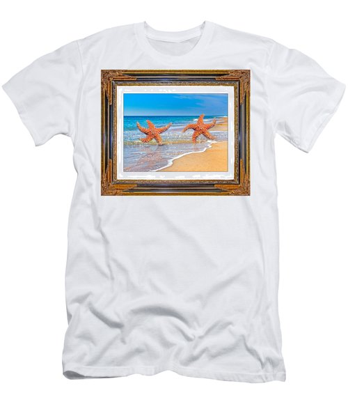 Dancing To The Beat Of The Sea Men's T-Shirt (Athletic Fit)