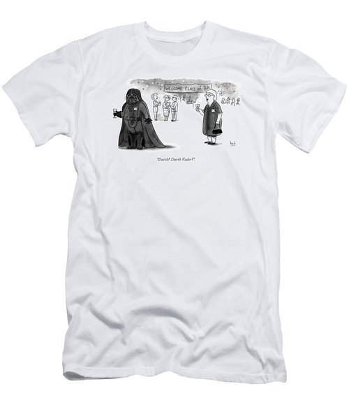 Darth? Darth Vader? Men's T-Shirt (Athletic Fit)