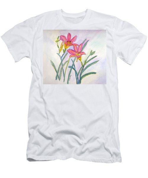 Day Lilies Men's T-Shirt (Athletic Fit)