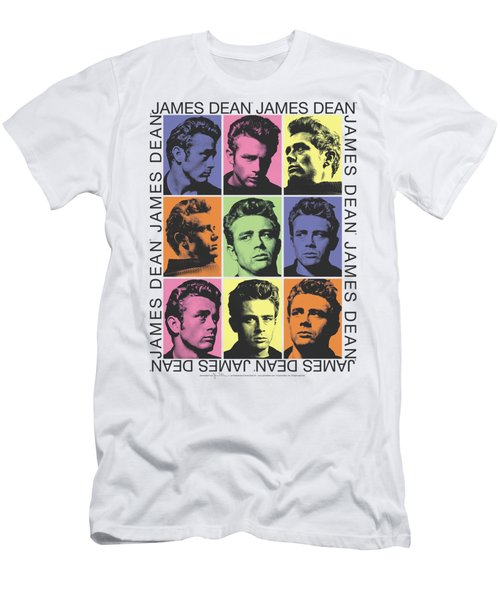 Dean - James Color Block Men's T-Shirt (Athletic Fit)