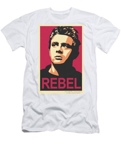 Dean - Rebel Campaign Men's T-Shirt (Athletic Fit)