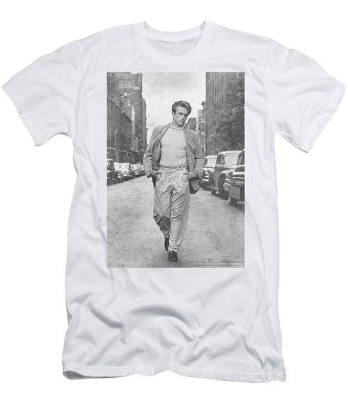 Dean - Walk The Walk Men's T-Shirt (Slim Fit) by Brand A