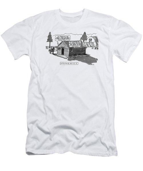 Debunkhouse Men's T-Shirt (Athletic Fit)