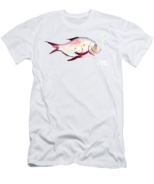 Decorative Fish Men's T-Shirt (Athletic Fit)