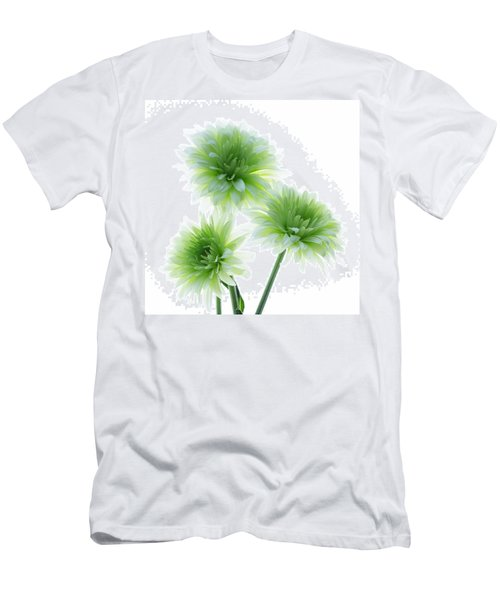 Deep In The Roots All Flowers Keep The Light Men's T-Shirt (Athletic Fit)