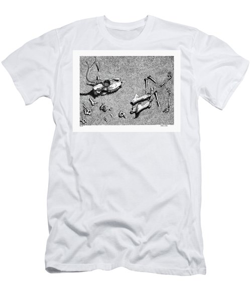 Deer Bones Men's T-Shirt (Athletic Fit)