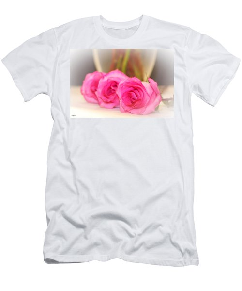 Delicate In Pink  Men's T-Shirt (Athletic Fit)
