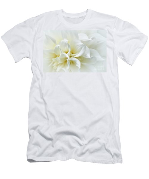 Delicate White Softness Men's T-Shirt (Athletic Fit)