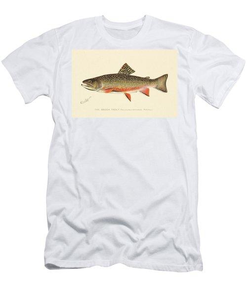 Denton Brook Trout Men's T-Shirt (Athletic Fit)