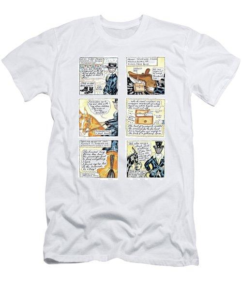 'dept. Of Equitation' Men's T-Shirt (Athletic Fit)