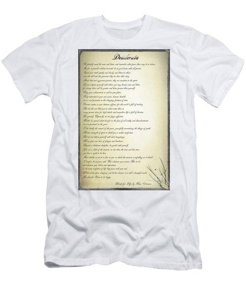 Desiderata 2 Men's T-Shirt (Athletic Fit)