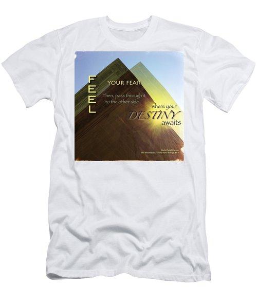 Your Destiny Waits Men's T-Shirt (Slim Fit) by Mark David Gerson