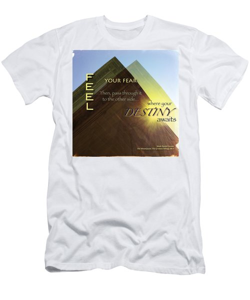 Your Destiny Waits Men's T-Shirt (Athletic Fit)