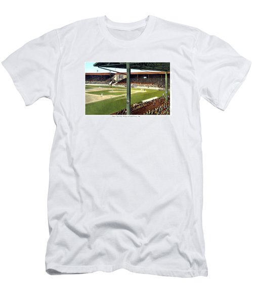Detroit - Navin Field - Detroit Tigers - Michigan And Trumbull Avenues - 1914 Men's T-Shirt (Athletic Fit)