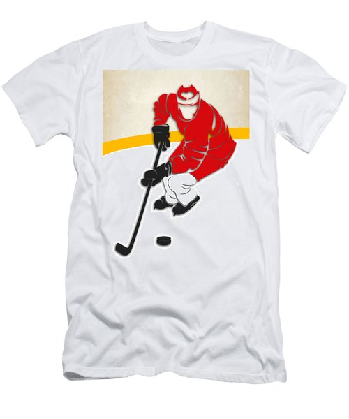 Detroit Red Wings Rink Men's T-Shirt (Athletic Fit)