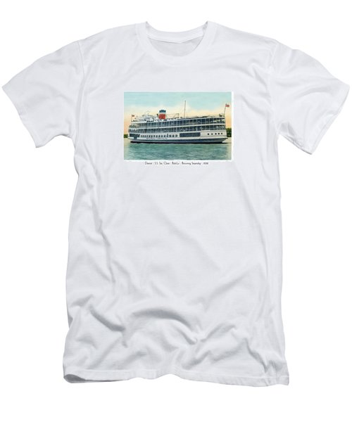Detroit - Ss Sainte Claire - Boblo - Browning Steamship - 1938 Men's T-Shirt (Athletic Fit)