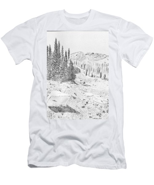 Devil's Castle Men's T-Shirt (Athletic Fit)